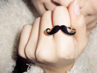Fashion Unique Classic Avanti beard finger ring,free shipping