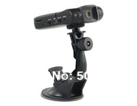 Free shipping + SC188 720P HD 120 Degree Lens Angle IR Night Vision Car DVR Camera (Black)