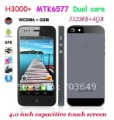 "Star H3000+ MTK6577 Dual Core 1.2GHz Android 4.0 3G Smart Phone 4.0"" Capacitive Screen GPS WIFI 512MB 4GB"