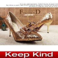 Туфли на высоком каблуке Popular Nude patent leather high-heeled shoes fish head waterproof