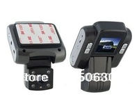 Free shipping + Mini 1.5 Screen 720P HD Driving Recorder with G-Sensor Function (Black)