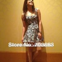 2014 best sell stock spendex celebrity girls  bandage dress