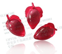 4G STRAWBERRY SHAPED BATH BEADS