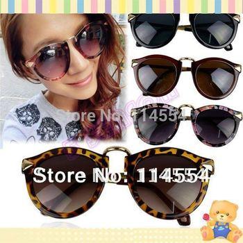 Fashion New Retro Stylish Arrow Decorative Plate Frames Unisex UV400 Sunglasses Eyewear 8098