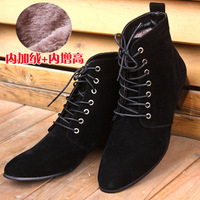 Free shipping men's boots Winter  snow boots martin fashion footwear cotton-padded fur shoes boots