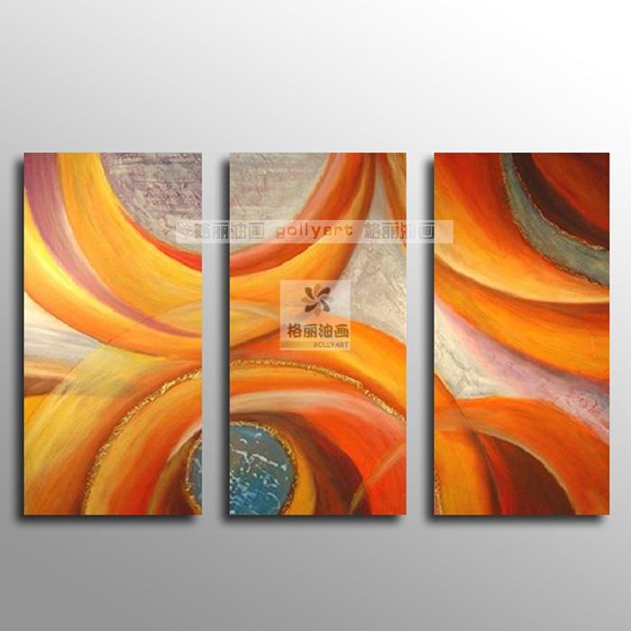 As pinturas decorativas modernas do pavão do derlook a63 do sumário 3 da pintura a óleo abstraem a pintura