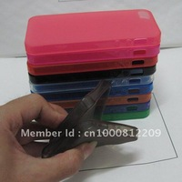 DHL free shipping,For iphone 5 TPU case, 10 color available good quality!