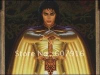 Michael Jackson  - 100% HandPainted  Portraits art oil painting on canvas  24x36 inch