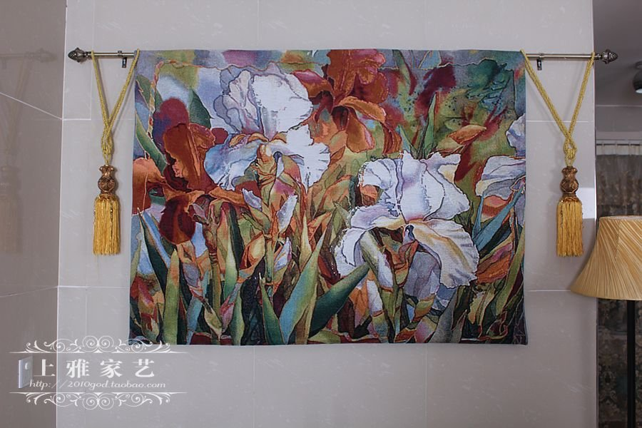 Corn Poppy Tapestry,140X105cm(55''X41'') Wall art decorations Free Shipping(China (Mainland))