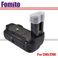 for D80 D90 camera battery grip ME-D80 replace camera grip handle