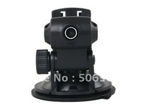 Free shipping + SC192 Car Driving Video Recording DVR with Card Slot (Black)