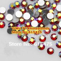 SS4 LT.SIAM AB color 1440pcs Non Hotfix Rhinestones 1.5mm crystal flatback Nail Art Rhinestones