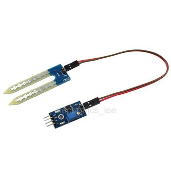 Humedad del Suelo módulo de detección del sensor higrómetro