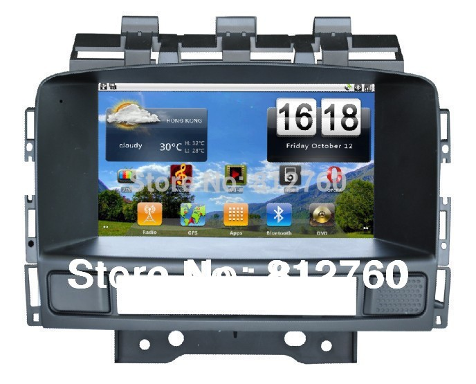 Pure Android 2.3 Car dvd player for OPEL ASTRA J 1G CPU Capacitive screen GPS,Radio,BT,CAN-BUS,(Optional Wifi 3G )Free shipping(China (Mainland))