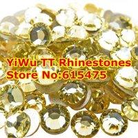 SS5 Jonquil color 1440pcs Non Hotfix Rhinestones 1.7mm crystal flatback Nail Art Rhinestones
