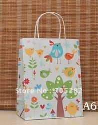 NEW kraft bag,27*21*11CM,Japan technical, jewelry pouch,paper Kraft bag, paper shopping bag, Free shipping(ss-477)(China (Mainland))