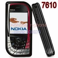 Hot!!! 7610 Original Unlocked Refurbished Nokia 7610 Mobile Phone GSM Tri-Band Camera Bluetooth Smartphone