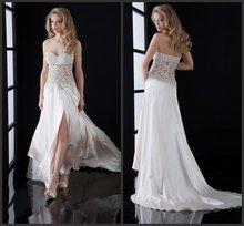 Line Wedding Dress Sexy