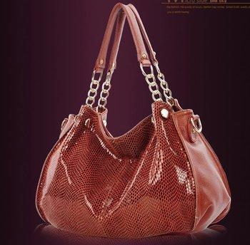 Free shipping-women's genuine leather handbag single shoulder cross-body bag cowhide handbag all-match bag