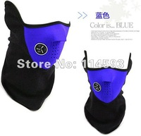 Wholesale EMS Free Shipping Winter Snow / Ski /Skate/ Cycling/Motor/Sport Warmer Half Face Mask    500pcs/lot