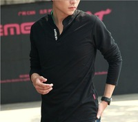 Surprise ~50 % OFF~, only one day~2012 Autumn New Mens Long Sleeve T-Shirt XL slim V neck bottoming Shirt Mens Clothing
