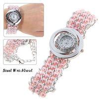 Sample LC Fashion Rhinestone Decoration Quartz Analog Wrist Watch with Round Dial for Female  Women's watch Ladies watches