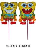 Sponge Bob Spongebob Patrick Balloons with sticks Toy Party Toys Gifts Present Balloon 80pcs