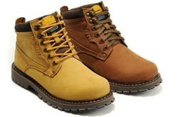 2013 mens outdoor high top Shoes genuine leather outdoor running hiking boots winter work boots size:38-44 Free Shipping(China (Mainland))