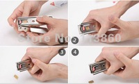 For iPhone 5G 5S Stainless Steel Micro SIM Card to Nano Sim Card Cutter/Cutting Adapters Convertor Free Shipping Wholesaler