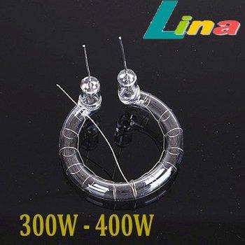 300 W - 400 W Flash anneau lumineux Tube lampe ampoule 5500 K 220 V Flashtube pour Photo Studio Strobe lampe de poche éclairage livraison gratuite