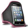 Hot Sale Pink Sports Gym Workout Armband Pouch Case Cover for Apple iPhone 5 5g(China (Mainland))