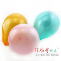 Thick christmas pearl balloon wedding balloon multi color mixed 1.5g bag 100 bag