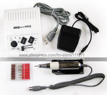 1set - Electric Nail Drill Manicure & Pedicure Kit -DR278(20000RPM)- Nail Machine /Filing Tools - Nail Art -Free shipping/EMS