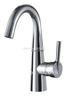 Modern Bathroom Accessories Brass Zinc Alloy Handle Ceramic Spool Vessel Sink Faucet Perfect Hose Lavatory Sinks KF-2032
