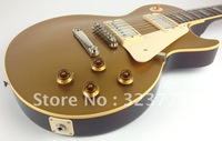 FREE SHIPPING  R7 Gold Top DARK BACK Electric Guitar