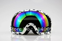 Spots Snowmobile Motorcycle Ski goggle eyewear protective glasses coloured lens