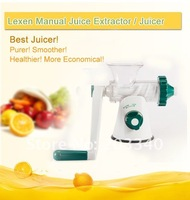 2013 Popular LEXEN brand  2013 discount juicer extractor with healthy and Green power Juicers stainless shell Blender