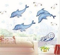 4PCS Free Shipping 50cm*70cm PVC New  Home/Kids Rooms DIY Decoration Wall Stickers 002001 (44)