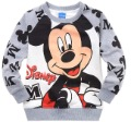 2012 children's clothing autumn and winter male child top boy t-shirt grey MICKEY pattern pullover Free Shipping~China Post