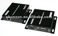 120m HDMI Extender via Gigabit Ethernet switch