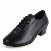 Faux leather boys child Latin ballroom maleLatin shoes male
