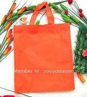 Free shipping Customized Logo Printing non-woven eco bag  30*35*10cm