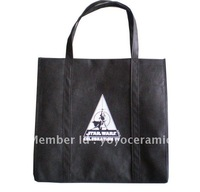 Free shipping Customized Logo Printing reusable shopping bag