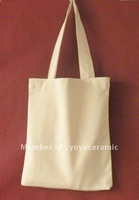 Free shipping blank cotton tote bag  37*41cm