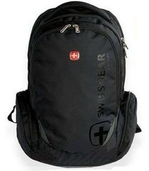 Wholesale and retail Stock Swissgear laptop backpack with good quality Free shipping(China (Mainland))