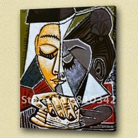 Wholesale handpainted reproduction of Picasso oil painting art for hotel decor