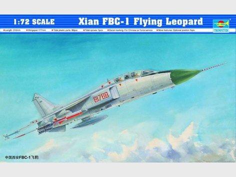 Trumpeter model 01608 1/72 Xian FBC-1 Flying Leopard model kit(China (Mainland))