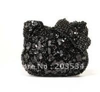 2012 Fashion ladies' change purse,glitter change bag,Crystal diamond evening bag for Christmas gifts free shipping