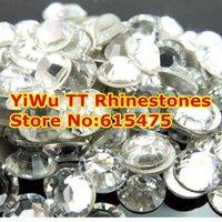 SS30 Crystal color 288pcs Non Hotfix Rhinestones 6.3-6.5mm 20ss crystal flatback Nail Art Rhinestones