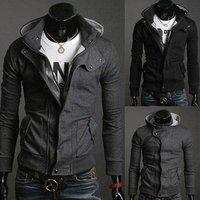 Hot  selling New Fashion Korean Men's Slim Fit Hoodie Sweater Male Jacket/Coat/Sweatshirt/Top